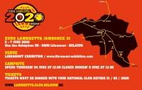 EUROLAMBRETTA 2020 Belgia - zaproszenie