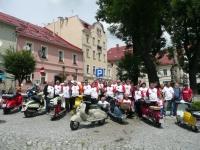 SKUTERMANIA XIV  2013 r - Kotlina kłodzka zlot zabytkowych skuterów Lambretta - Kotlina Kłodzka  czerwiec 2013 r.