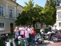 Skutermania XV Lambrett i Os. Kazimierz Dolny - wrzesień 2014 r.