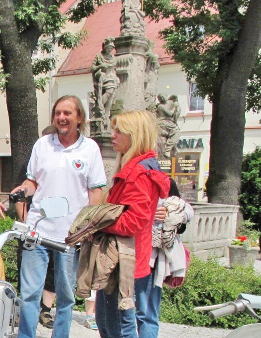 Telega  Wiesław i Małgosia